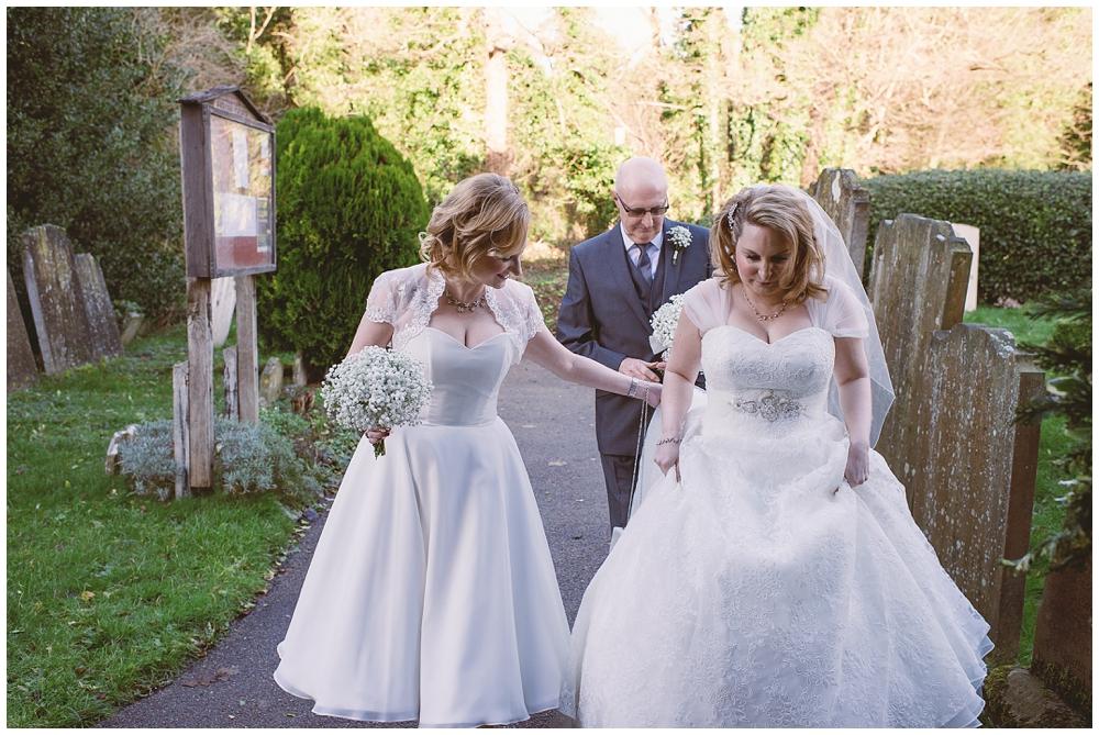 winter wedding photography Surrey