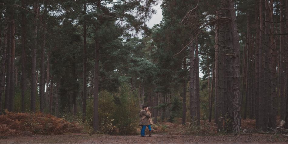 surrey woodland pre wed shoot
