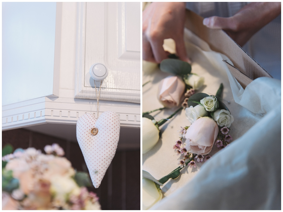 winter wedding buttonholes and corsages