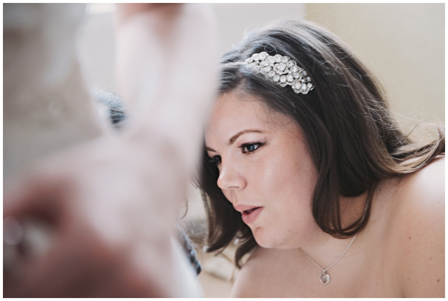 bridesmaid's hairpiece