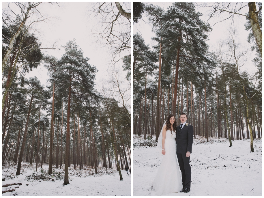 What if it snows on my wedding day?