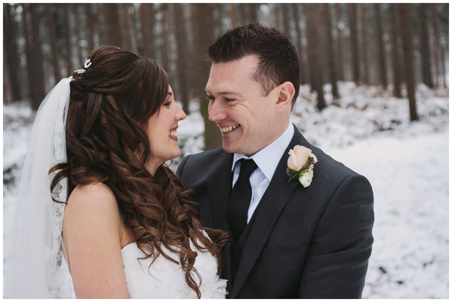 winter weddings in the country