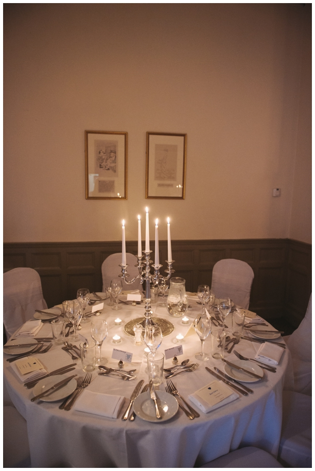 silver themed winter wedding ideas