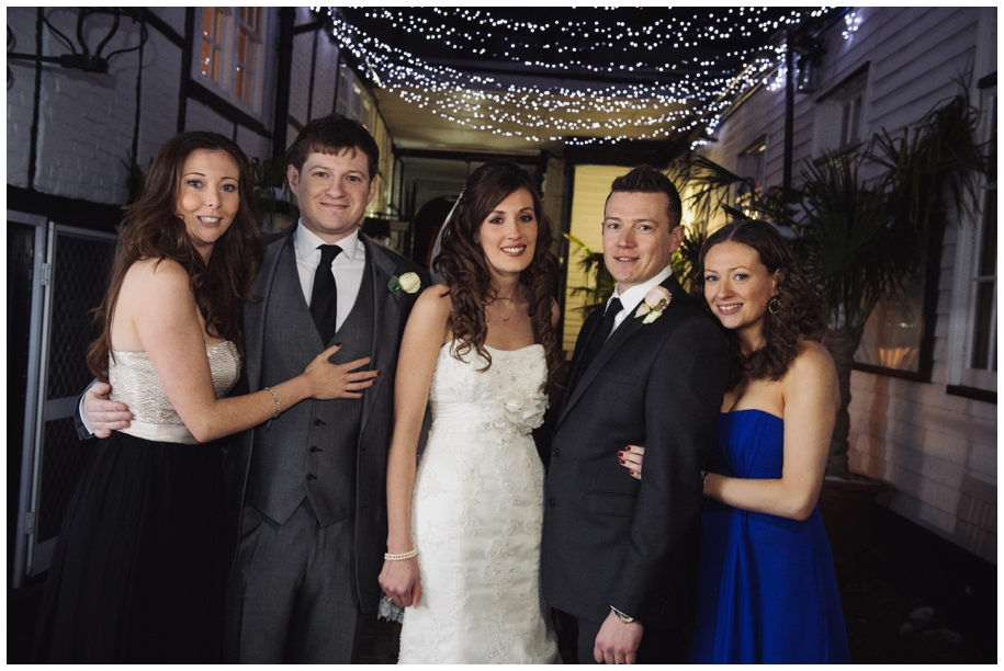 Winter weddings at the Talbot Inn Surrey