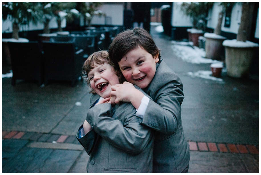 pageboys outfits Surrey weddings