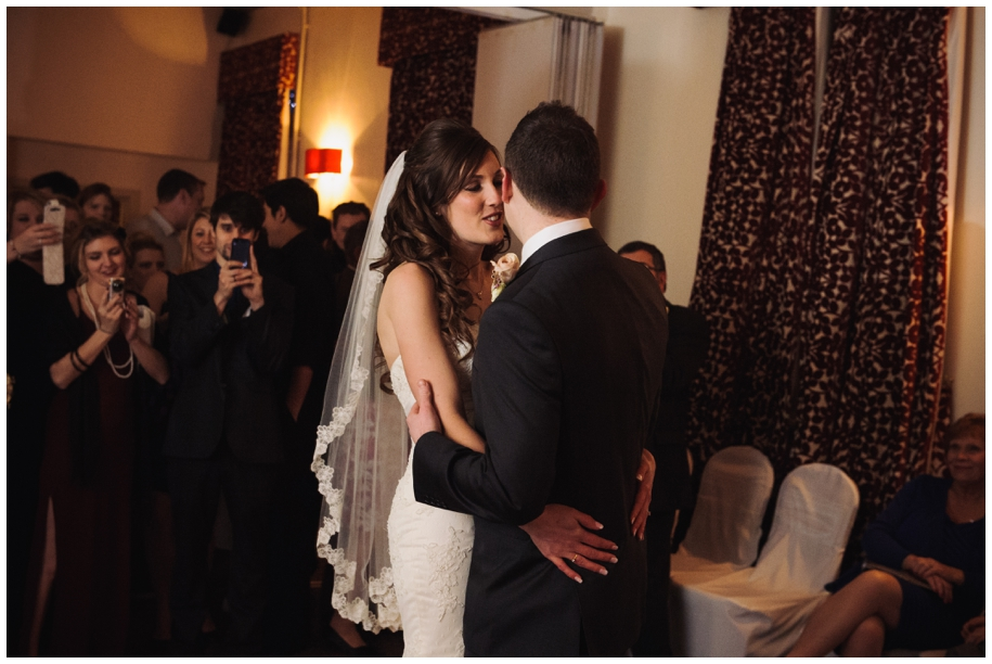 winter weddings at The Talbot Inn