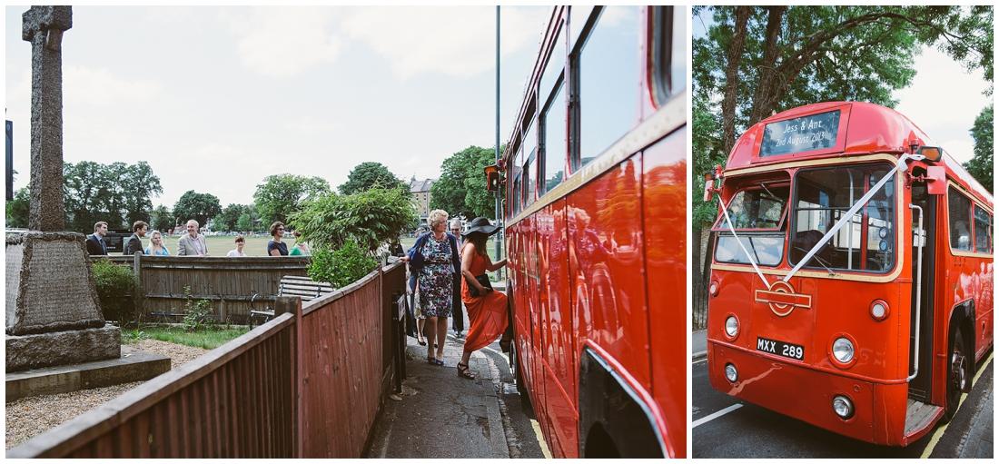 vintage buses for weddings