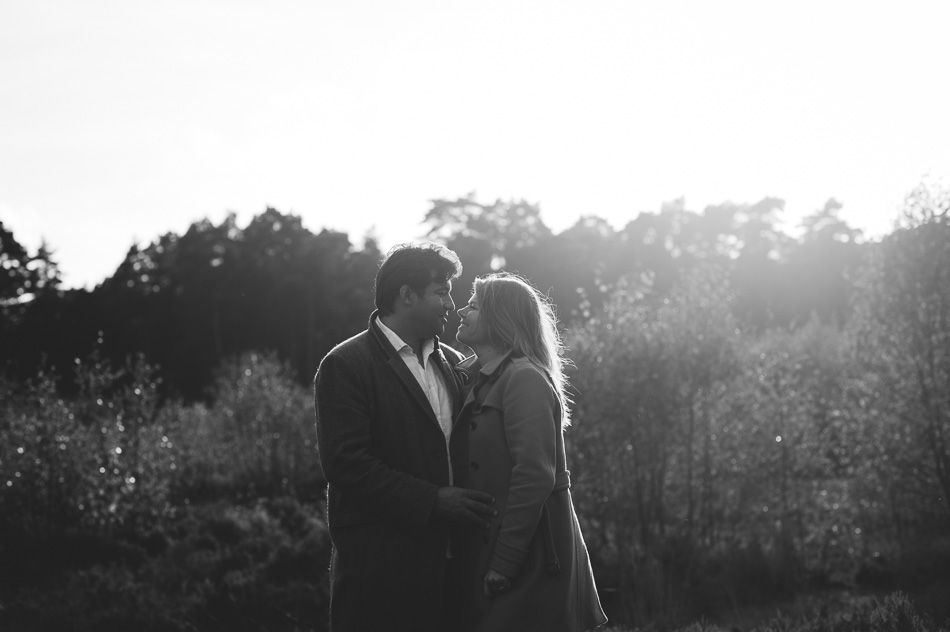 pre wed shoot at sunset