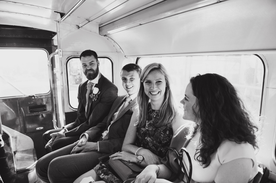 Old London bus for weddings