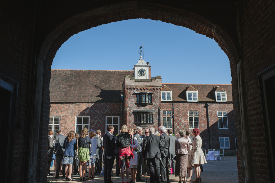 Fulham Palace wedding guests
