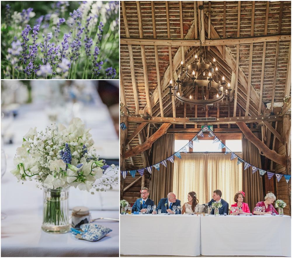 wedding guests Herons Farm
